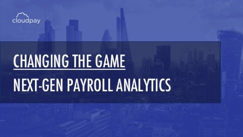 Better insights through global payroll analytics