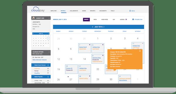 payroll calendars