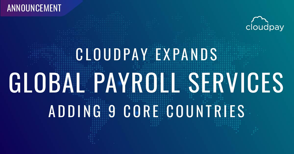 CloudPay Core Countries