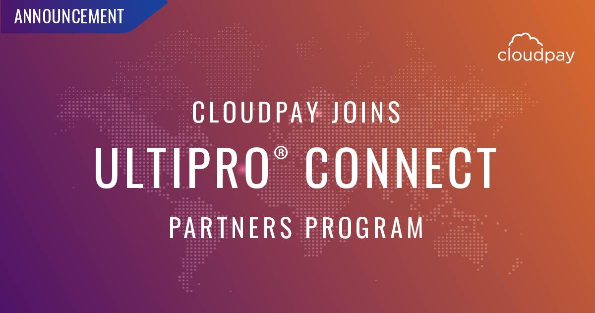 CloudPay Joins Ultimate Software Partner Program