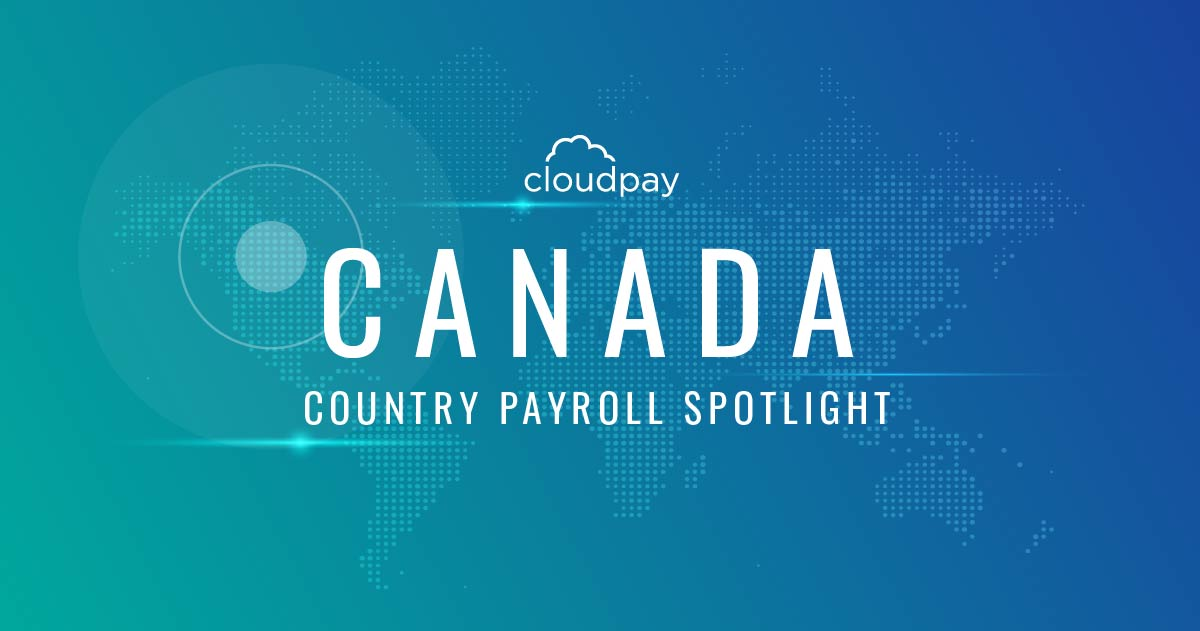 Canada payroll country guide