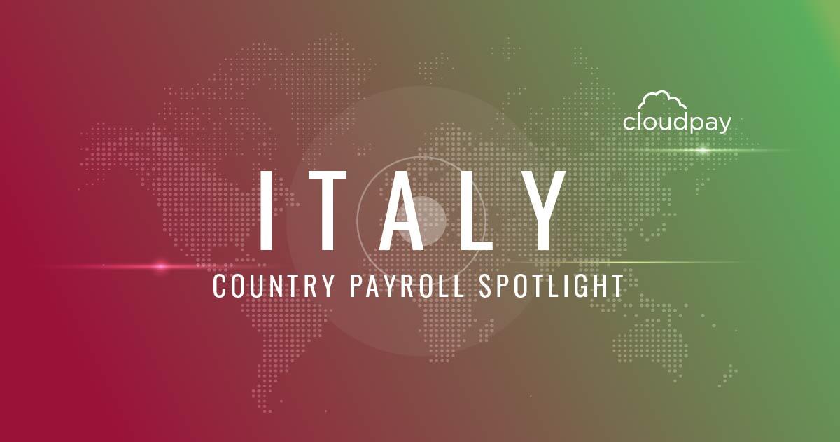 Understanding Payroll in Italy