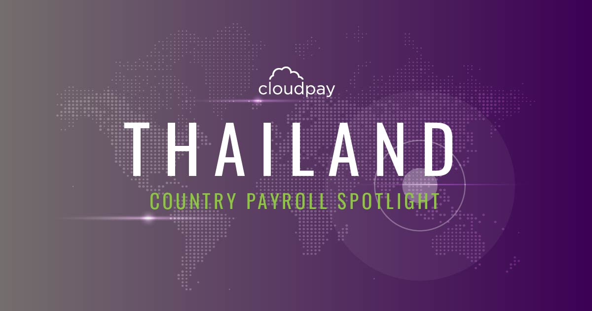 Understanding Country Payroll: Thailand